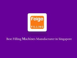 Filling Machine Manufacturer