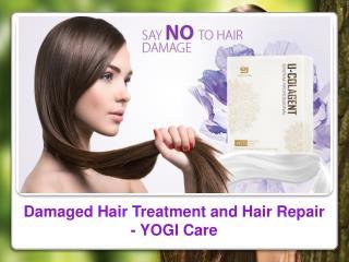 Damaged Hair Treatment and Hair Repair - YOGI Care