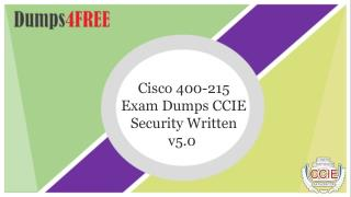 Pass your Cisco 400-251 Exam With 400-251 Exam Dumps