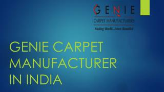 Durrie manufacturers india