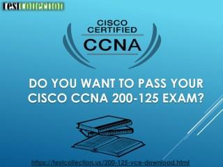 Cisco CCNA 200-125 Real Exam Questions