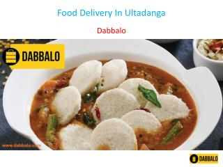 Food Delivery In Ultadanga