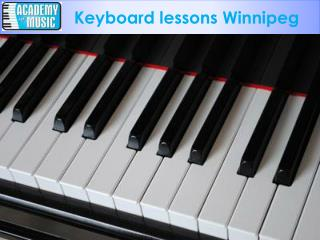 Training of Keyboard lessons winnipeg