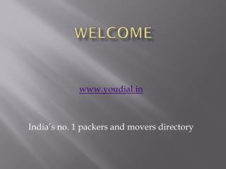 Verified moving company on YouDial
