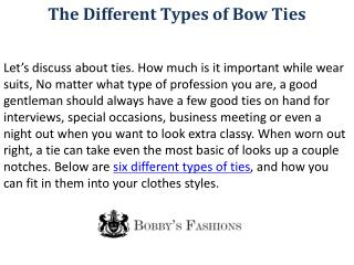 How to choose Perfect Men's Suit - Bobbys Fashions
