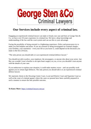 Bail Application Lawyers Sydney