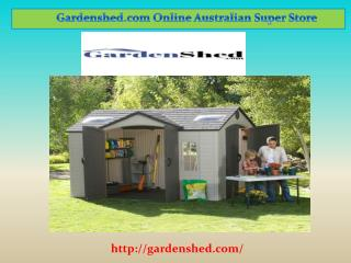 Absco Garden sheds Online | Gardenshed.com
