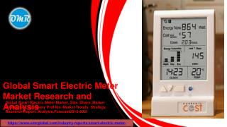 Smart Electric Meter Market Research