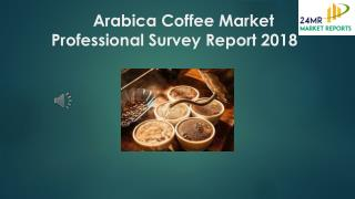 Arabica Coffee Market Professional Survey Report 2018