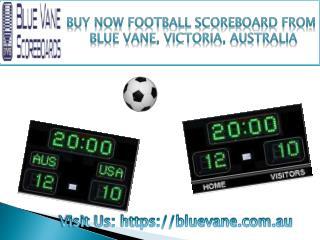 Now buy Football Scoreboard from Blue Vane, Ringwood, Victoria