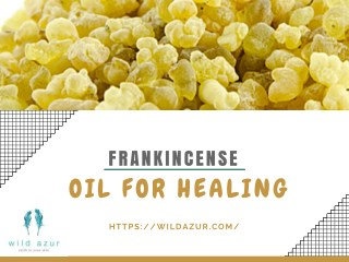 Frankincense – Oil for Healing