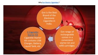 Electronic Cigarette Online in India