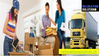 Relocation Solution-The Best Packers and Movers in Noida
