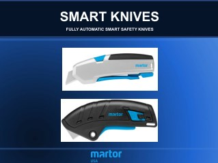 Smart Safety Utility Knvie and Cutter