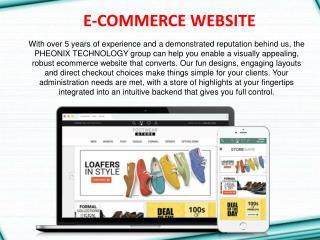 E-commerce Website Design in Chandigarh
