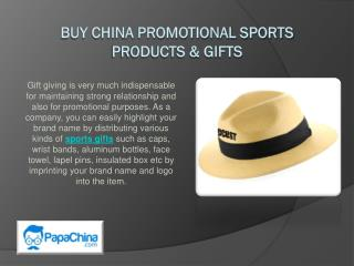 China Promotional Sports Products at Wholesale Price