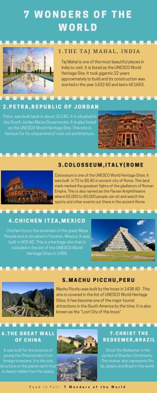 7 world wonders