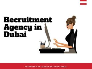 Find Ther Best Recruitment Agency in Dubai - 2018 | You Should Not Have To Mis!!!