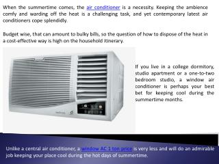 Buy a New Air Conditioner