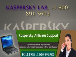 kaspersky phone help,  1-800-891-5603