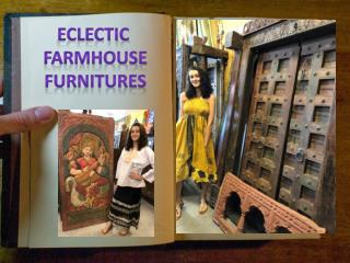 Eclectic farmhouse furnitures