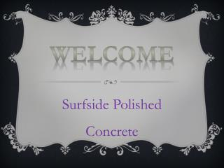 Best Polished Concrete in Ocean Grove