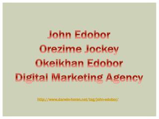 Web Page Can Help Your Branding ~ Orezime jockey |John Edobor