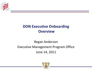 DON Executive Onboarding   Overview