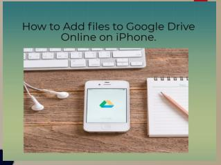 How to Add files to Google Drive Online on iPhone | Google Chat Support