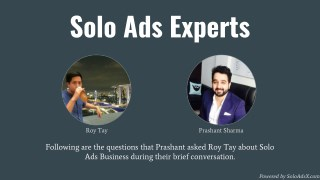 Solo Ads Experts Interview