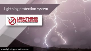 Unrivalled Lightning protection system for Every Industry