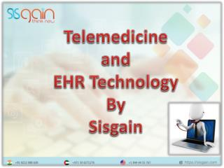 Telemedicine and EHR Technology by SISGAIN