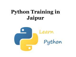 Python training in jaipur - pythontraining.dzone.co.in