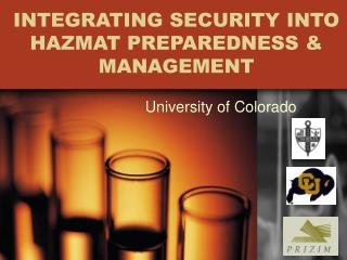 INTEGRATING SECURITY INTO HAZMAT PREPAREDNESS & MANAGEMENT