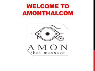 Traditional Thai Massages in Madrid   Amon THAI Massage