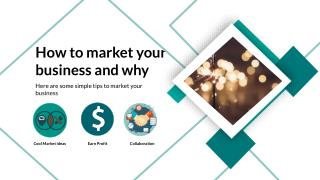 Guide to market your business
