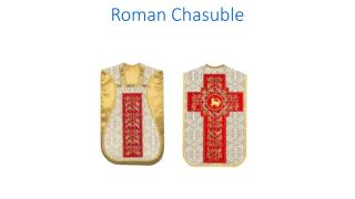 Roman chasuble - PSG vestments