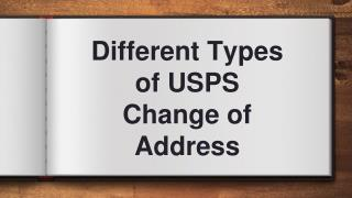 Different Types of USPS Change of Address
