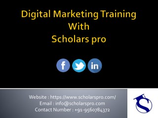 Best digital marketing training | Digital Marketing Training Certification
