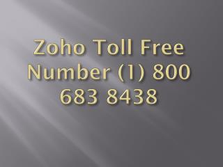 Zoho Mail Support Phone Number ( 1)-800-6838-438 Phone number ( 1)_800_683_8438