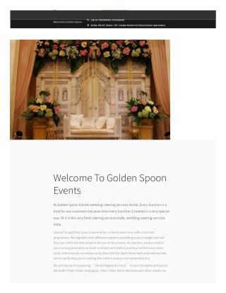 Golden Spoon Events