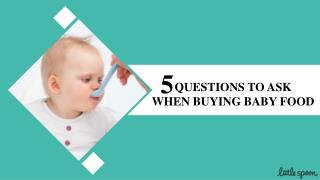 Ask These Questions Before Buying Organic Baby Food Delivery