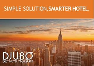 DJUBO Brochure Products Services Overview
