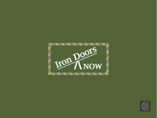 High Quality Wrought Iron Doors