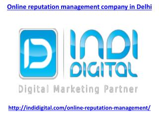 Find the best online reputation management company in Delhi