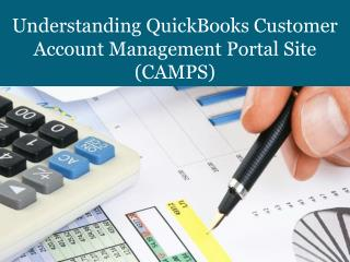 Understanding QuickBooks Customer Account Management Portal Site
