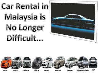 Start Malaysia Car Rental With Largest Discount
