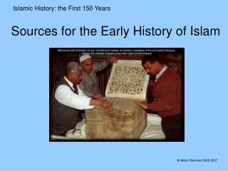 Sources for the Early History of Islam