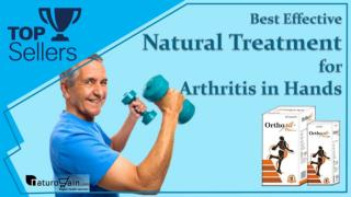 Best Effective Natural Treatment for Arthritis in Hands