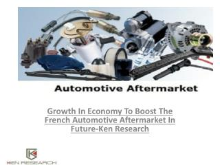 Automotive Aftermarket in France Market by Manufacturers,Production ,Revenue ,Consumption,Analysis : Ken research.